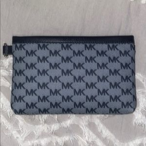 Navy blue/blue woman clutch/small wallet